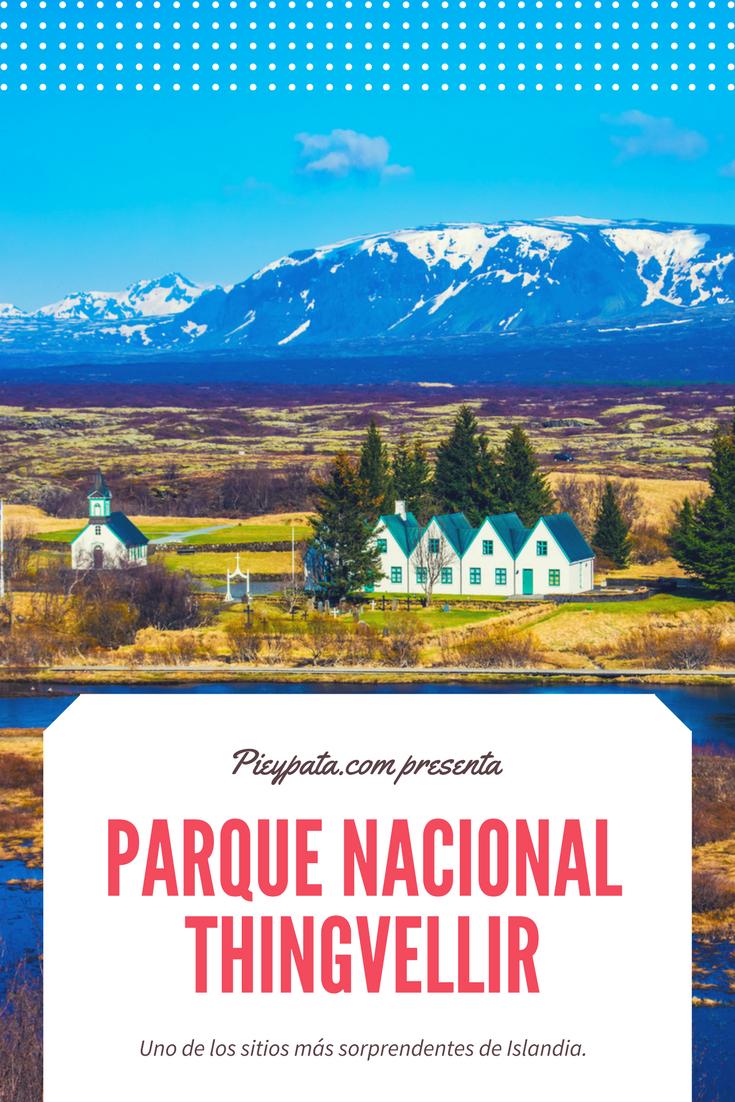 Parque Nacional Thingvellir – Pie & Pata