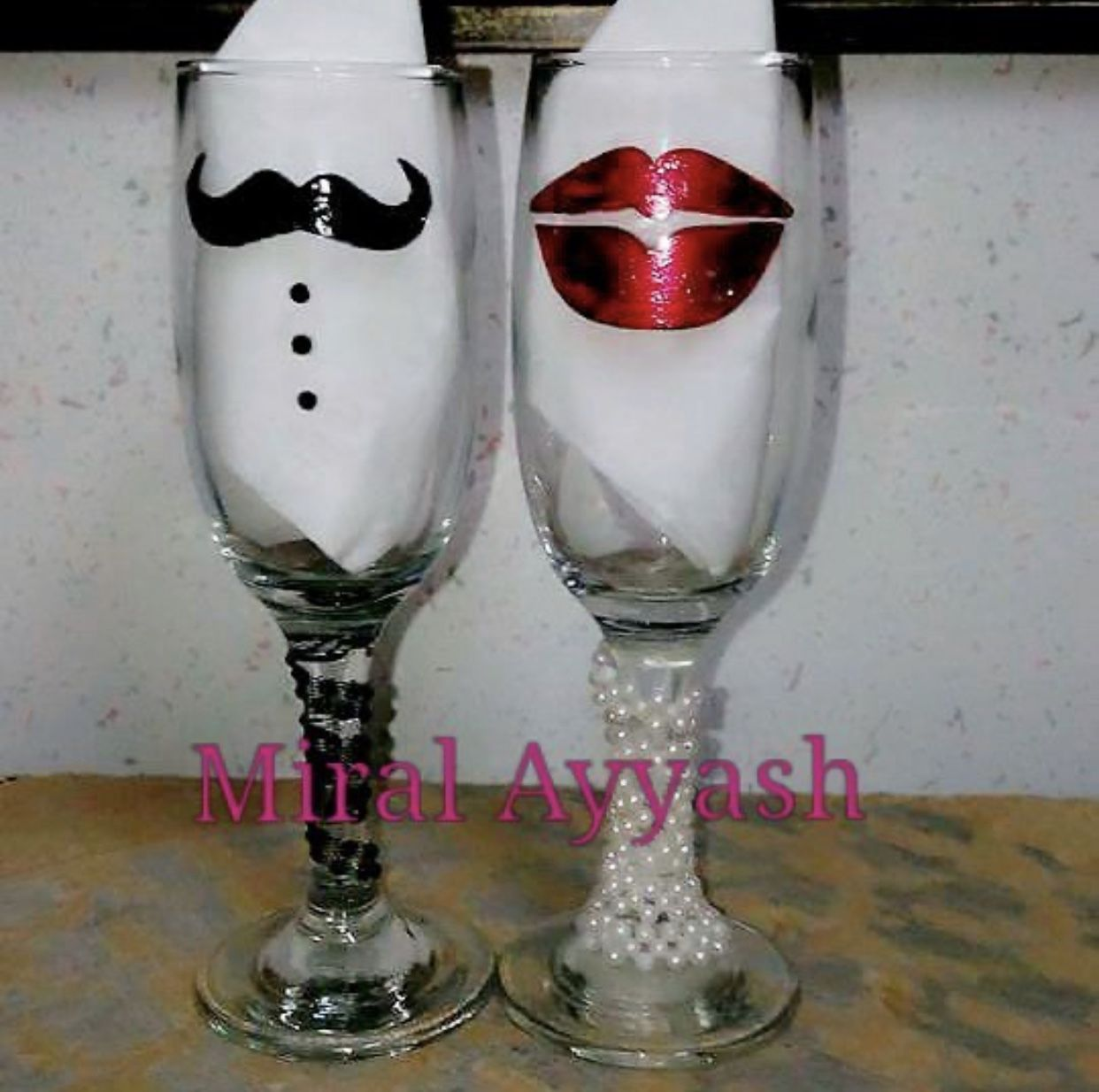 أعمال يدوية Pilsner Glass Champagne Flute Glassware