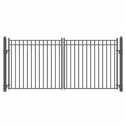 Steel Dual Swing Driveway Gate Madrid Style Driveway Gate Wrought Iron Gate Designs Electric Driveway Gates