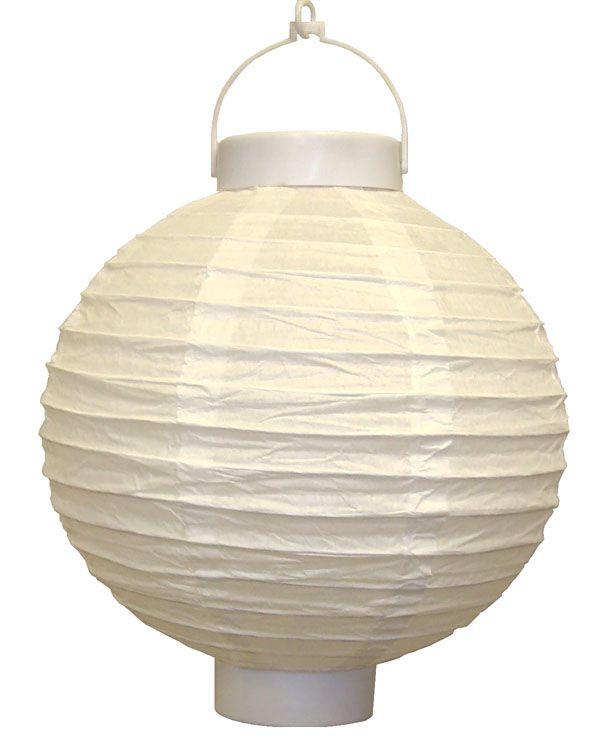 12 Battery Operated White Led Paper Lantern Led Paper Lanterns Paper Lanterns Led Lantern