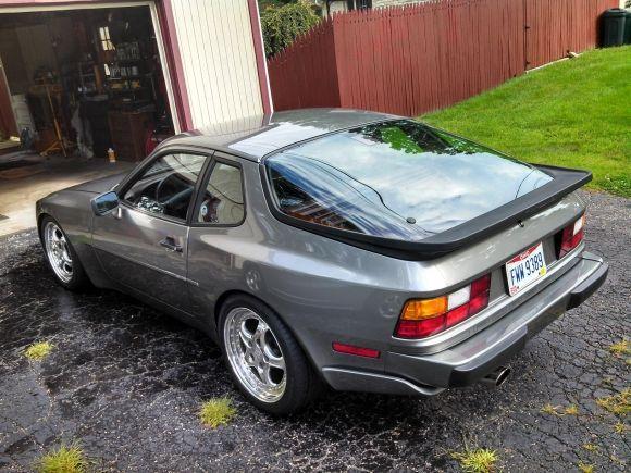 Boosted Gunmetal 1987 Porsche 944 Turbo Porsche 944 Porsche Porsche Cars