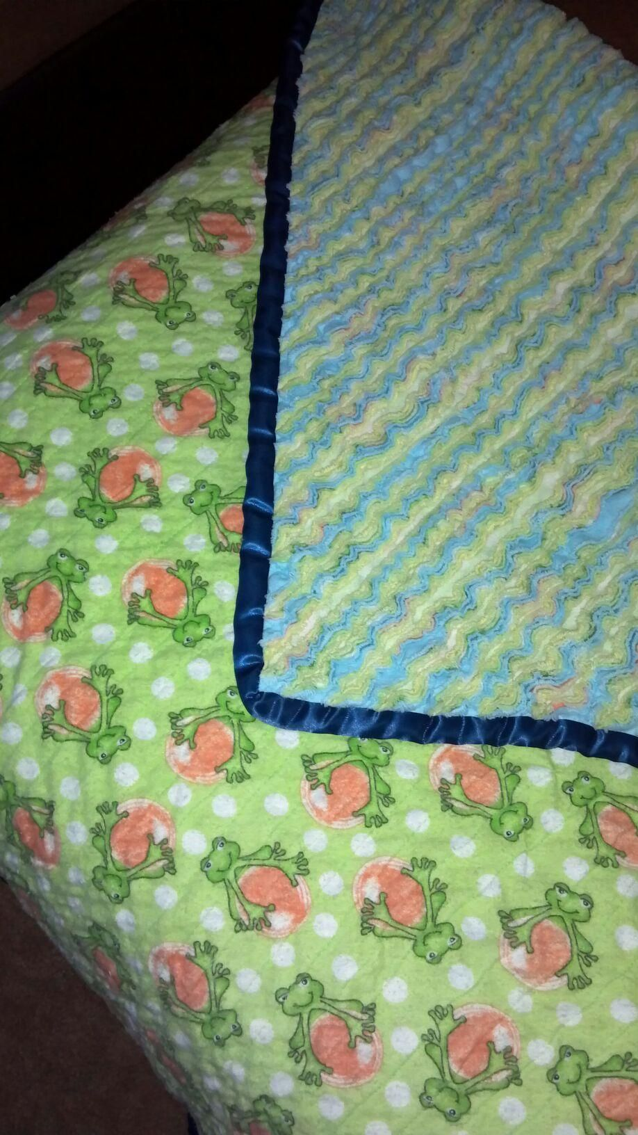 custom made chenille blankets, email me if interested, janelle_hartwig@hotmail.com