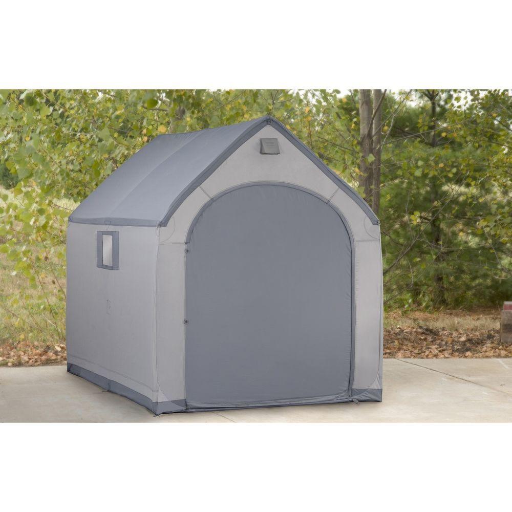 Plastic Portable Outdoor Storage Shed Garden Backyard Moto Garage Patio Work
