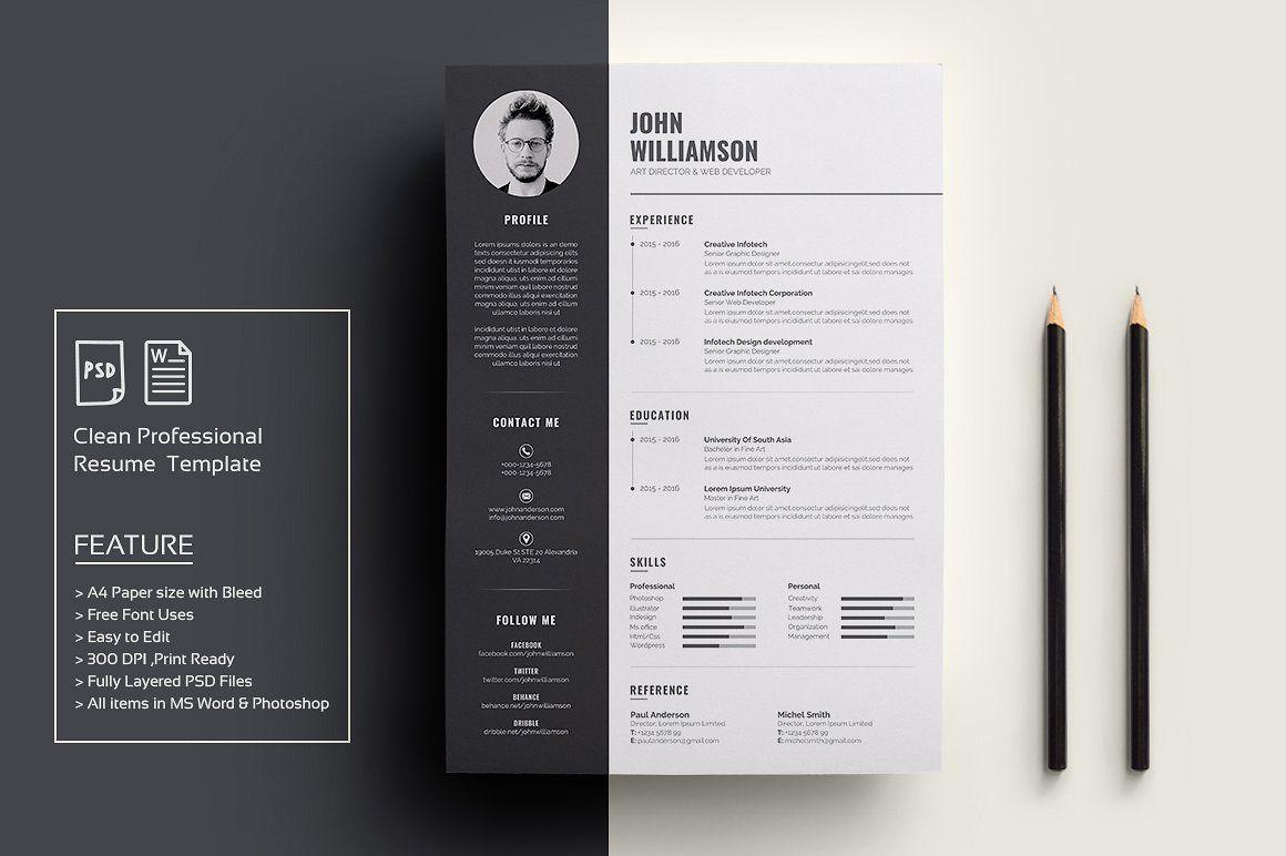 Resume/CV | Resume cv and Simple cv