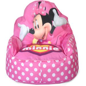 Disney Minnie Mouse Toddler Bean Bag Chair - Walmart.com ...