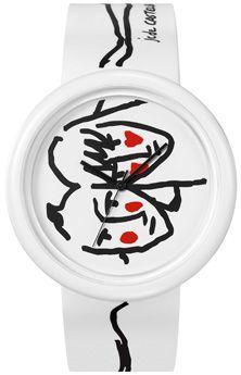 Reloj ODM Time Gallery Blanco. http://www.tutunca.es/reloj-odm-time-gallery-blanco-rojo