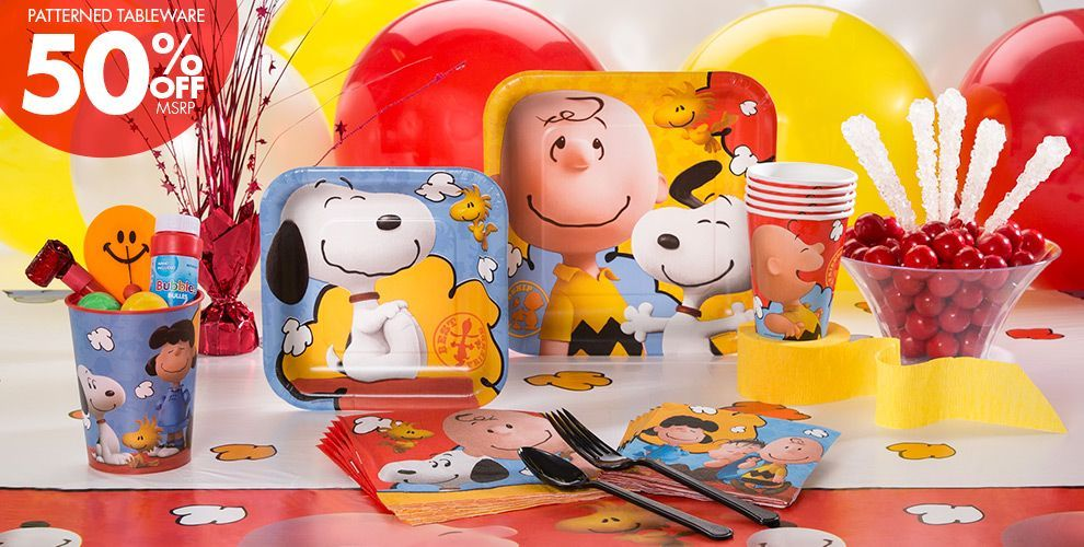 Snoopy e sua turma Peanuts Party Supplies Snoopy Birthday – Party City Invitations for Birthdays