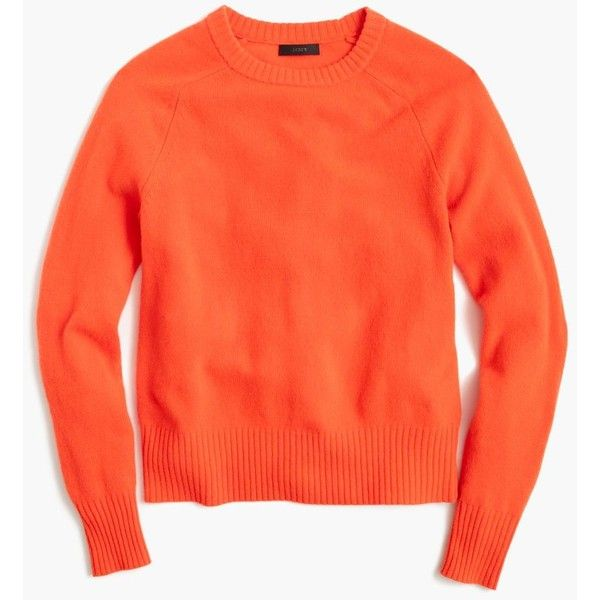 J.Crew Holly Sweater ($80) ❤ liked on Polyvore featuring tops, sweaters, j crew sweaters, red wool sweater, wool sweaters, j crew tops and woolen sweater