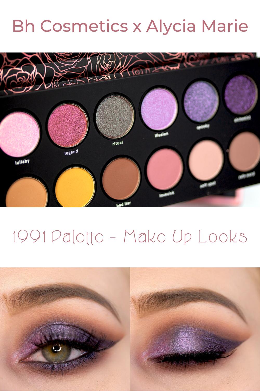 Photo of Bh Cosmetics x Alycia Marie 1991 Palette – Sabrinasbeautyparadise – Make Up und Hautpflege Blog seit 2013