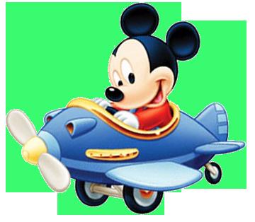 Mickey Bebé En Avión U2026