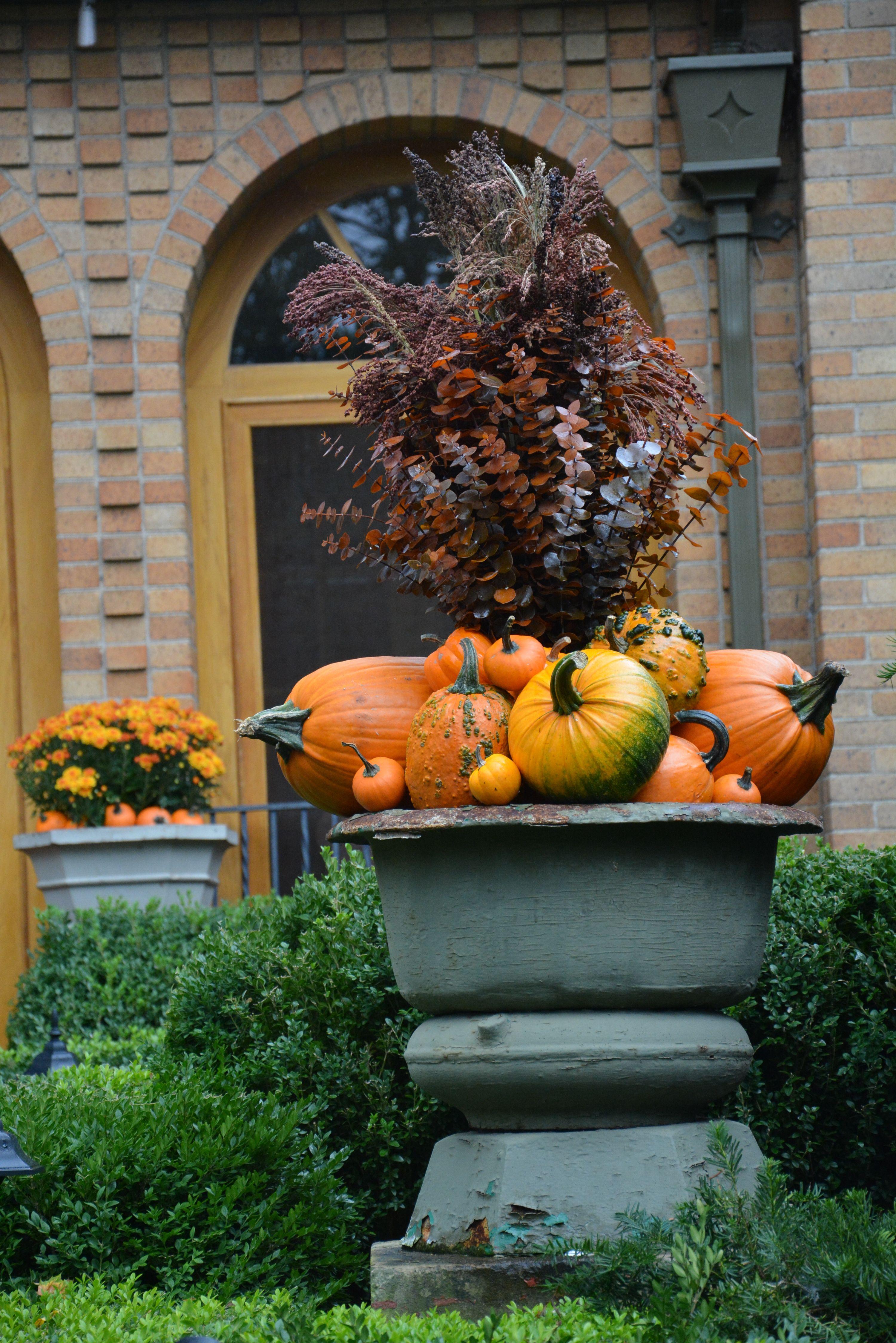 pumpkin pot ~ I'm a huge fan of Debrah Silver