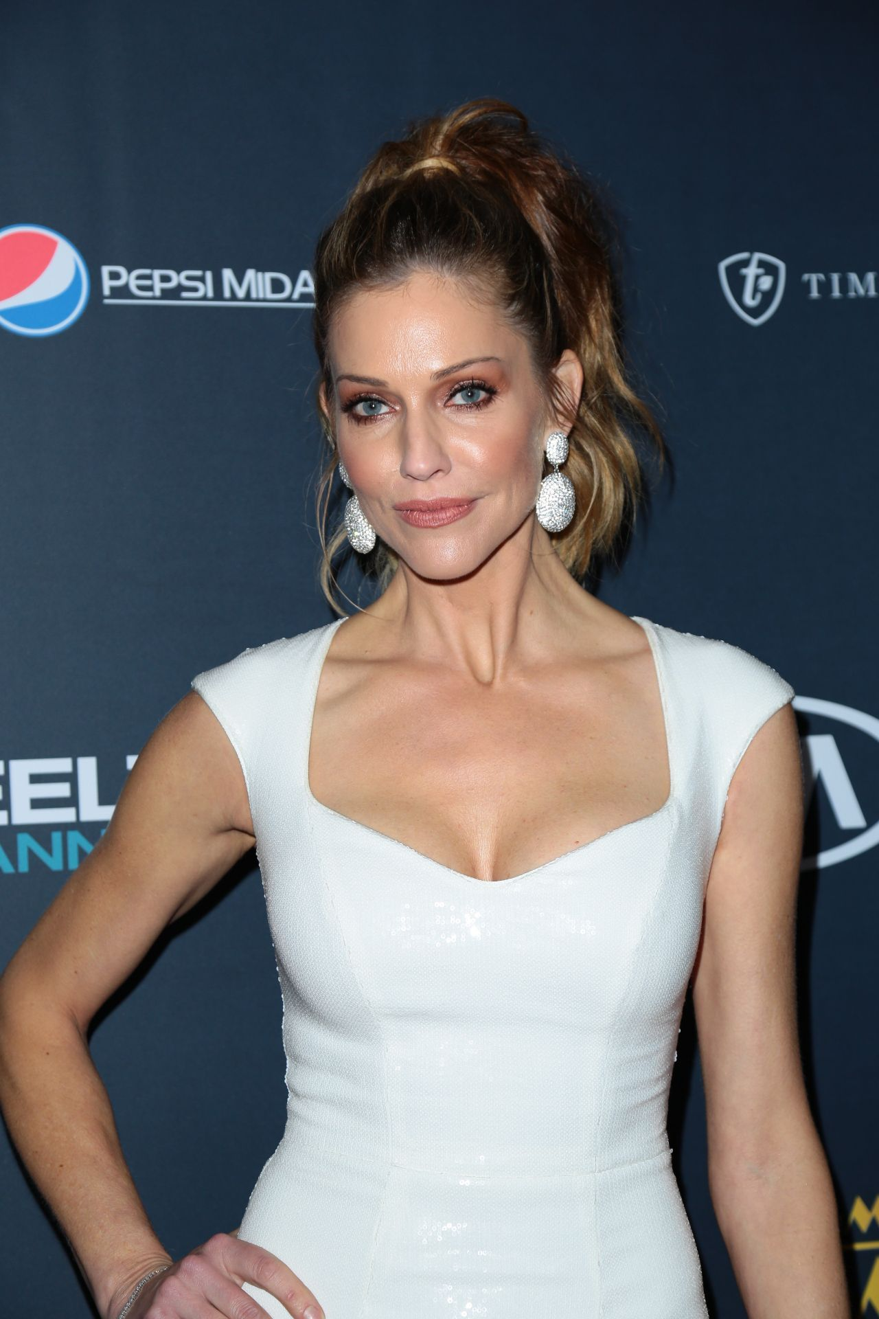 Tricia Helfer Triciahelfer At 25th Annual Movieguide Awards In Universal City  Celebstills T Tricia Helfer