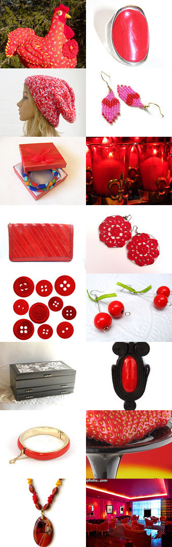 Scarlet Woman ~ 10% off all featured shops ~ by Sal Tattersfield on Etsy--Pinned with TreasuryPin.com