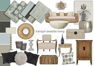 Interior decorating also best design mood boards images coastal style beach rh pinterest