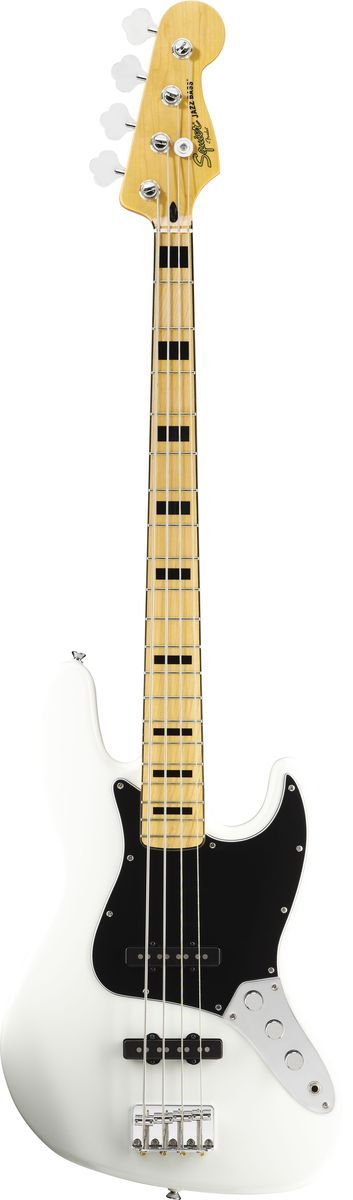 Squier Vintage Modified Jazz Bass 70 Olympic White Squier Guitar Bass