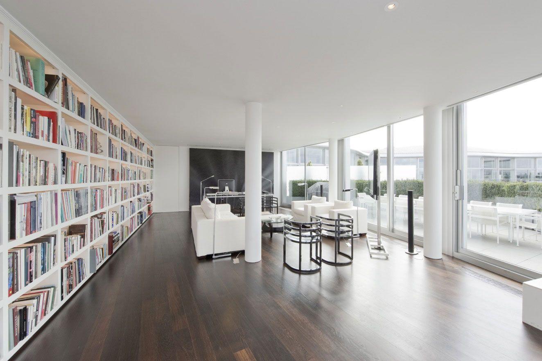 Riverside Penthouse by Richard Meier (9) | Home decor | Pinterest ...