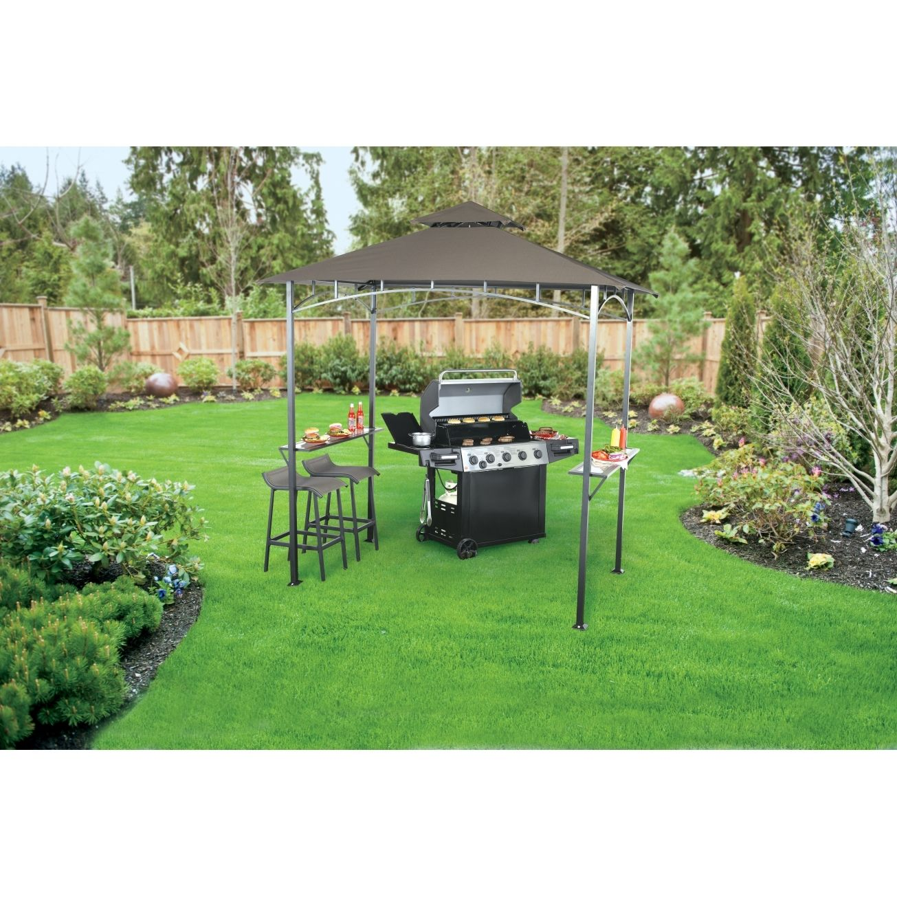 living accents grill gazebo cover http web2review info