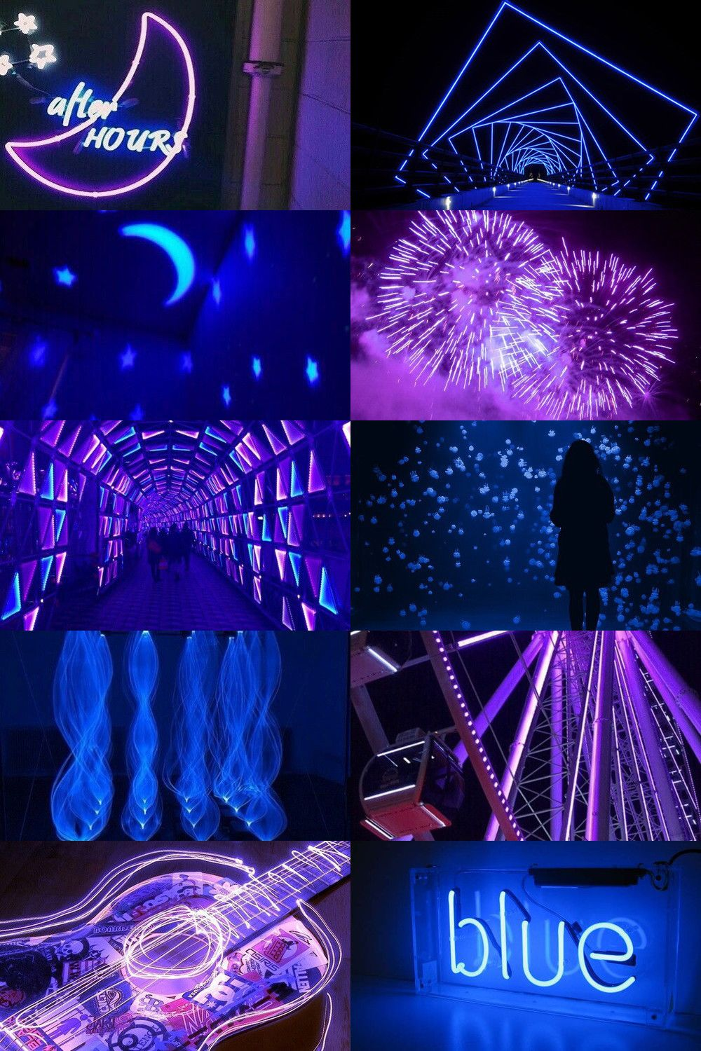 Wallpaper Aesthetic Blue And Pink