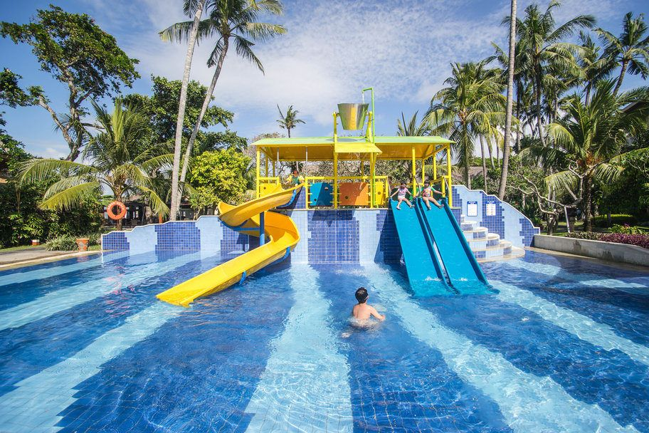 Kids Pools With Slides 6 amazing bali hotels and resorts with great slides and kids pools