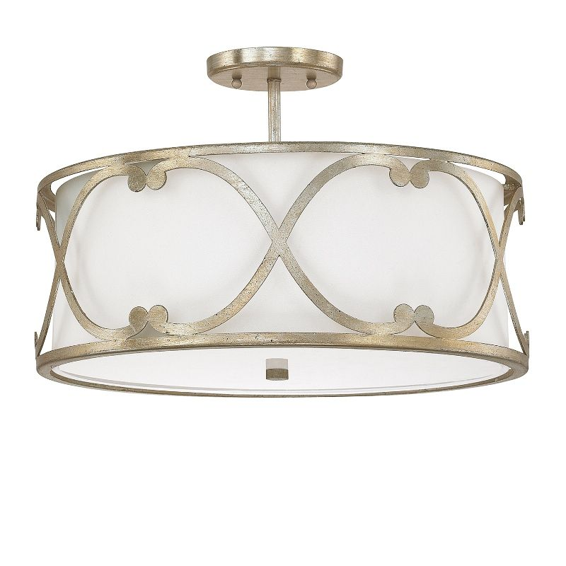 3 light semi flush capital lighting fixture company