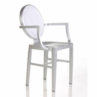 Alphaville Design Langley Aluminum Dining Chair Chair Modern