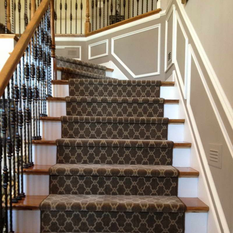 Wooden Stairs With Painted Stripes Updating Interior: Image Result For Carpet Pattern Stairs