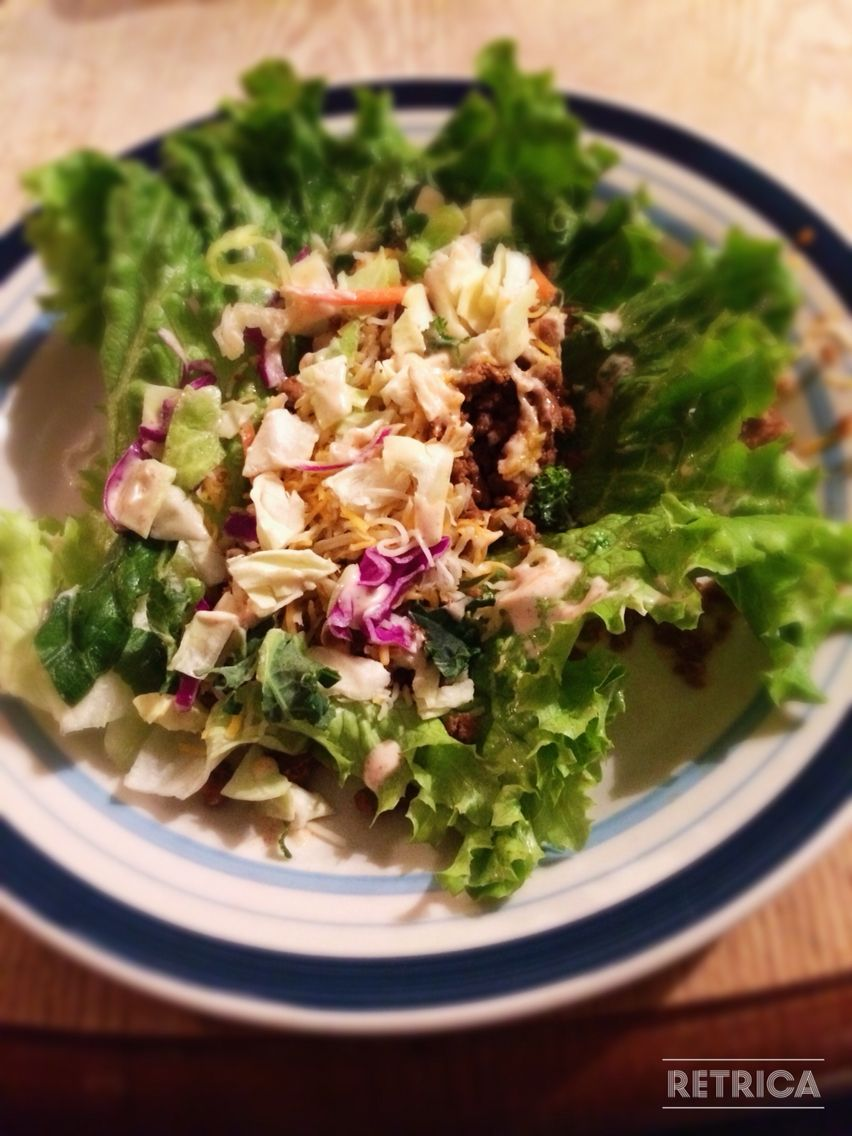 Lettuce taco yum! Super easy to make spent under $20