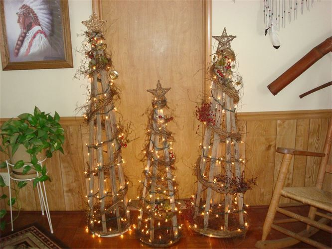 tobacco stick trees Would also be nice for in the garden | Tobacco ...