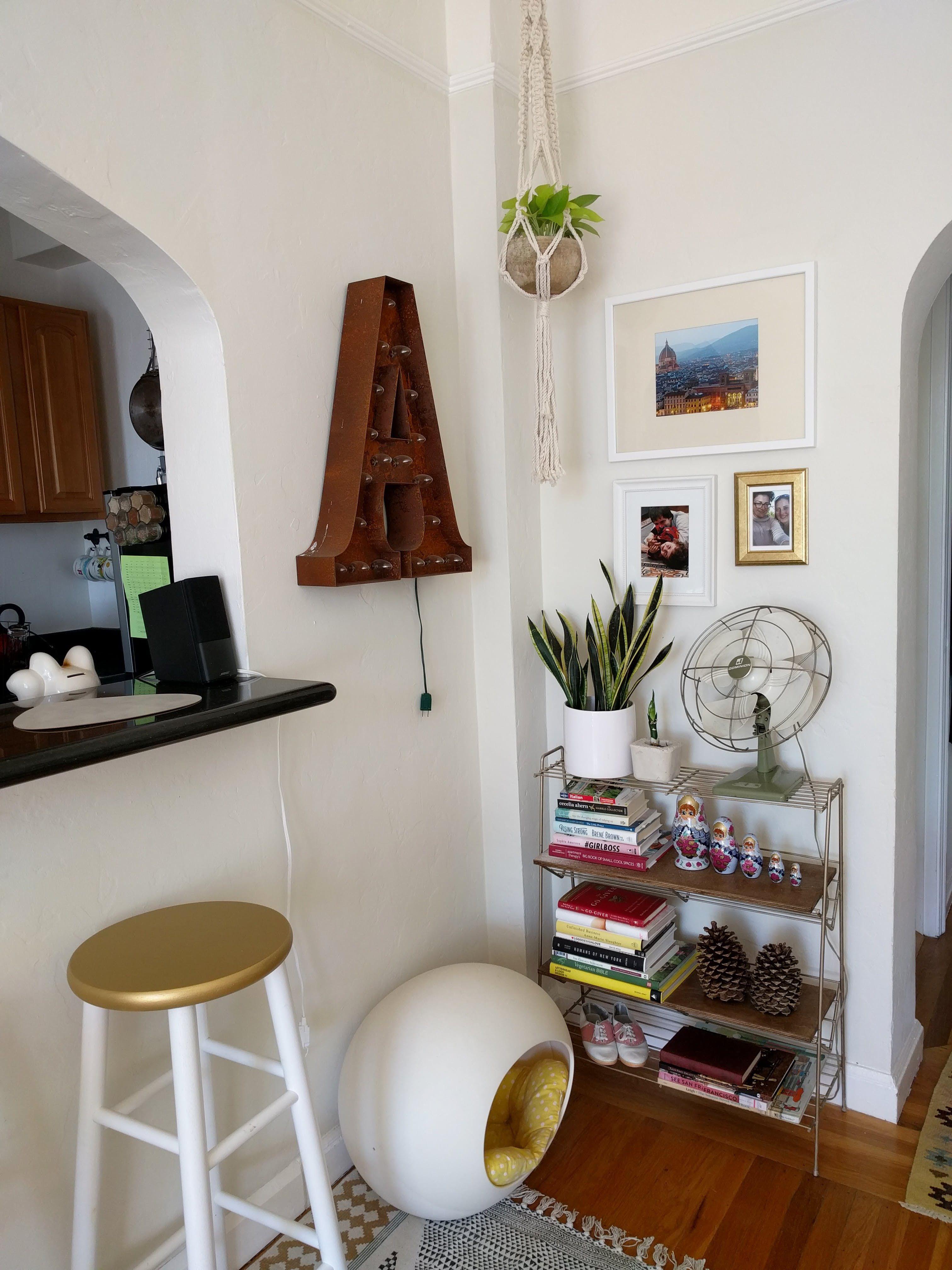 Beautiful home interiors a colorful studio in san francisco u house call  san francisco
