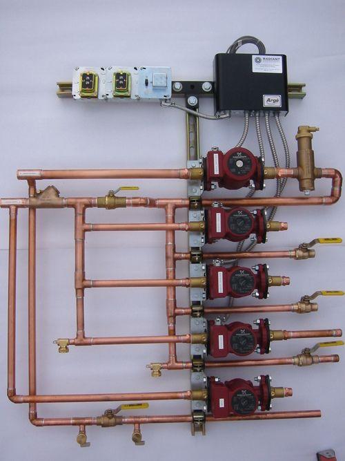 Custom Fabrication Hydronic Heating Systems Hydronic Radiant Floor Heating Underfloor Heating Systems