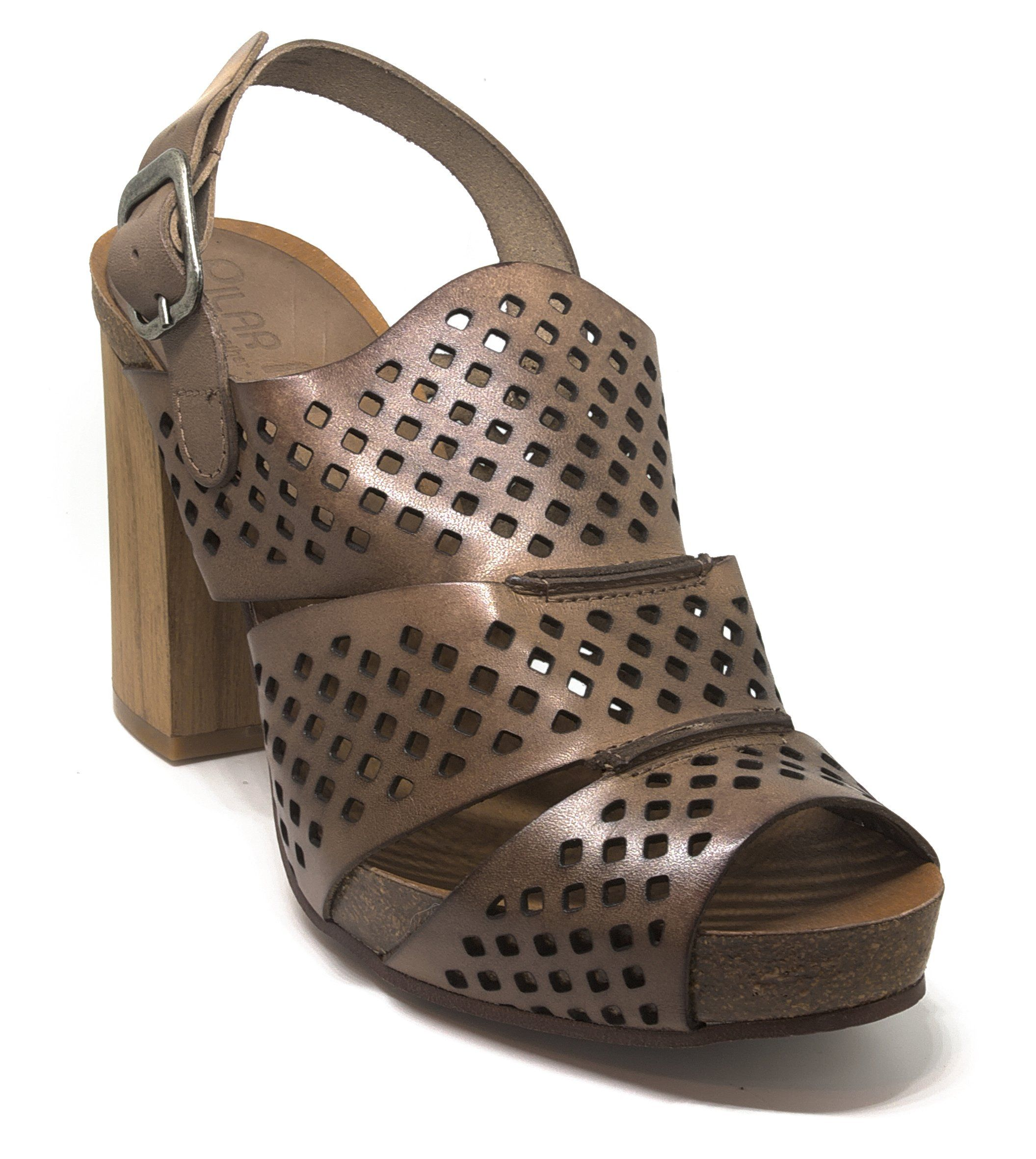 4b3839e79e29f6 Pilar Monet Three Section Bucle Genuine Leather Sandals 40 M EU 9 BM US     Read more at the image link.(It is Amazon affiliate link)  WomenSandalsIdeas