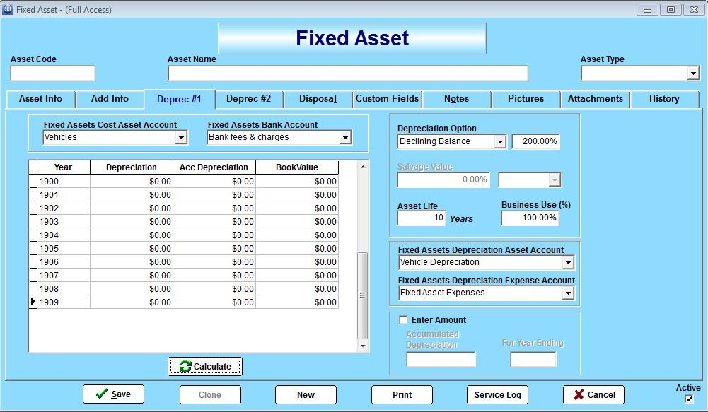 TrueERP Fixed Assets || South Africa