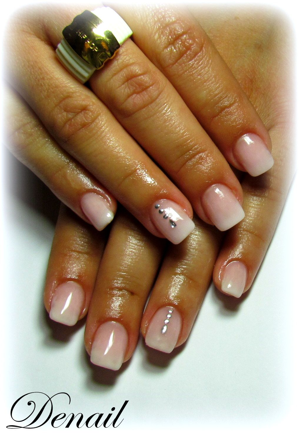 baby boomer style   baby boomer nail art tutorial by nded ...