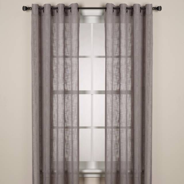 Product Image For Alton Solid Grommet Window Curtain Panel With