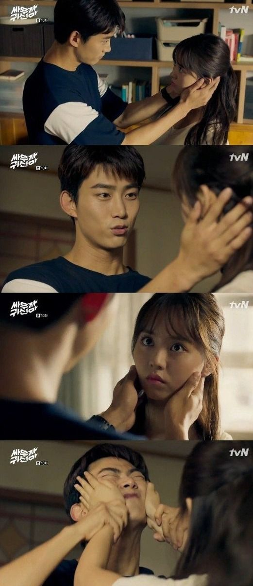 Spoiler Added Episode 10 Captures For The Korean Drama Bring It On Ghost Bring It On Ghost Korean Drama Lets Fight Ghost
