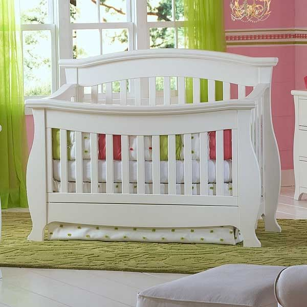 Renaissance Crib In Snowdrift By Baby S Dream Baby Furniture Cribs Dream Furniture