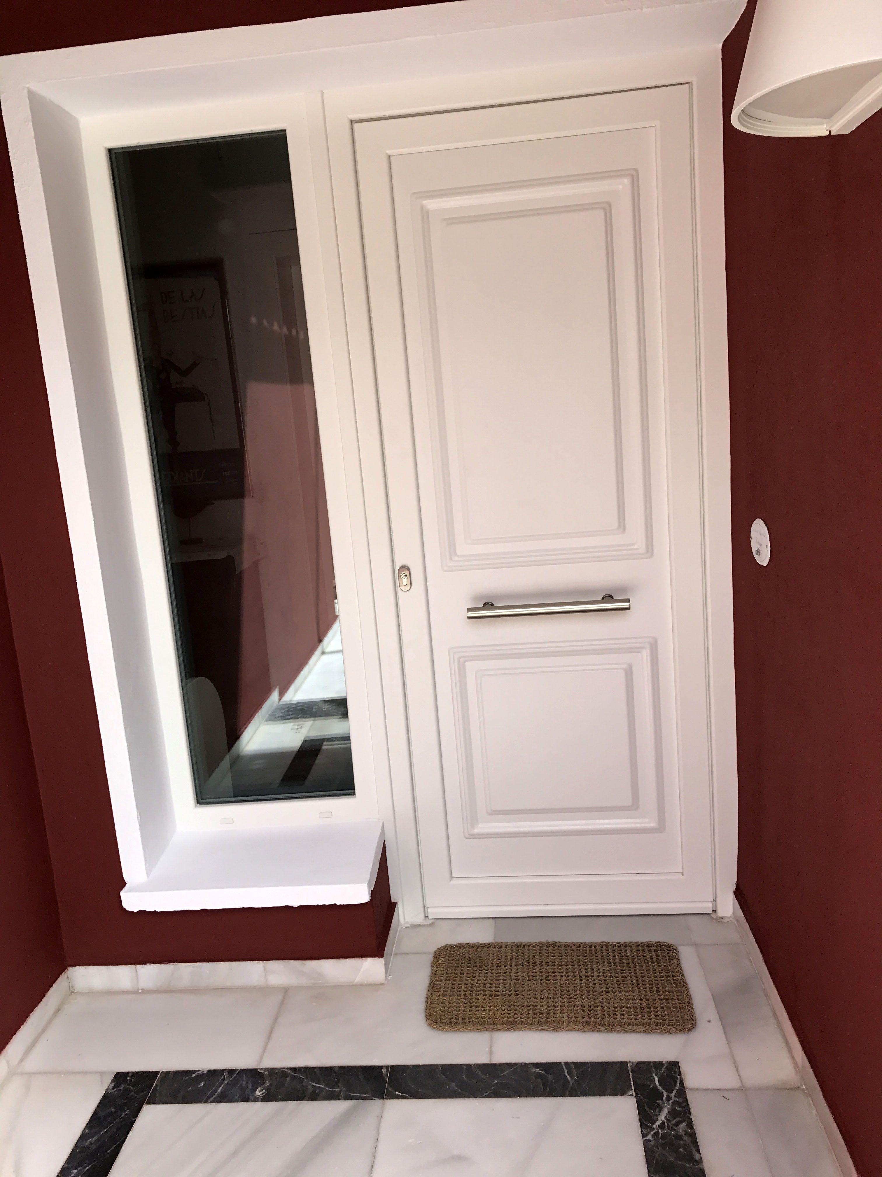 Ip13 Aluminio Lacado Indupanel Paneles Puertas Clasicas