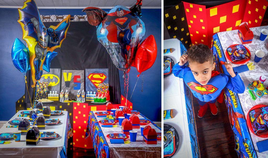 Unique Batman Vs Superman Bedroom Ideas That Rock: BATMAN VS SUPERMAN Place Settings