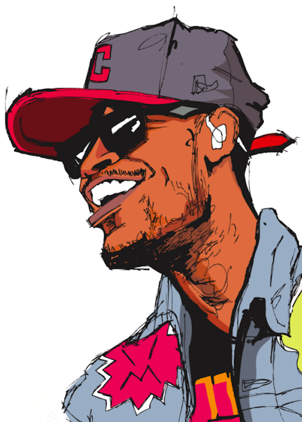 Cartoon Characters As Rappers : Cartoons of hip hop artists by will prince ilustracion