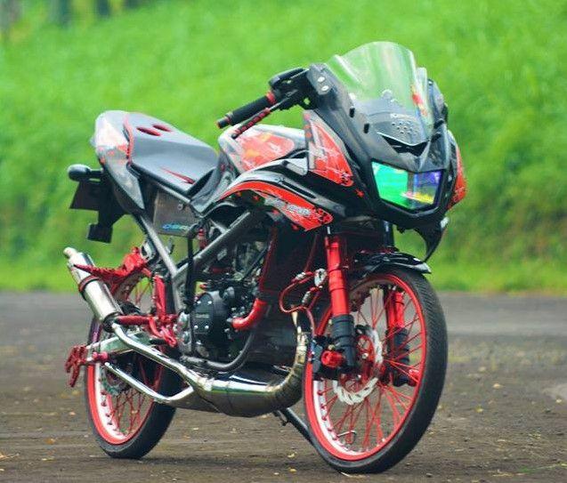 7 Gambar Modifikasi Motor Ninja Rr 150 Cc 2 Tak Warna Hijau Minimalis Kawasaki Ninja Gambar Mobil