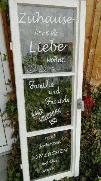 Shabby chic Fenster Garten oder EingangHochzeit/ Einzug1,20cm hochHandmade,… – Architektur