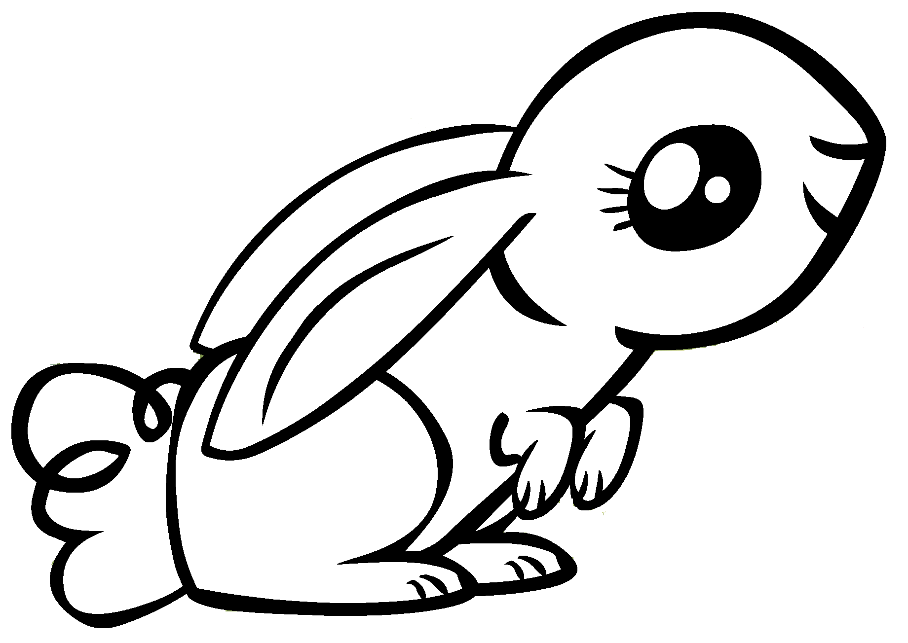 Bad Bunny Clipart Free Clip Art Bunny Drawing Clip Art
