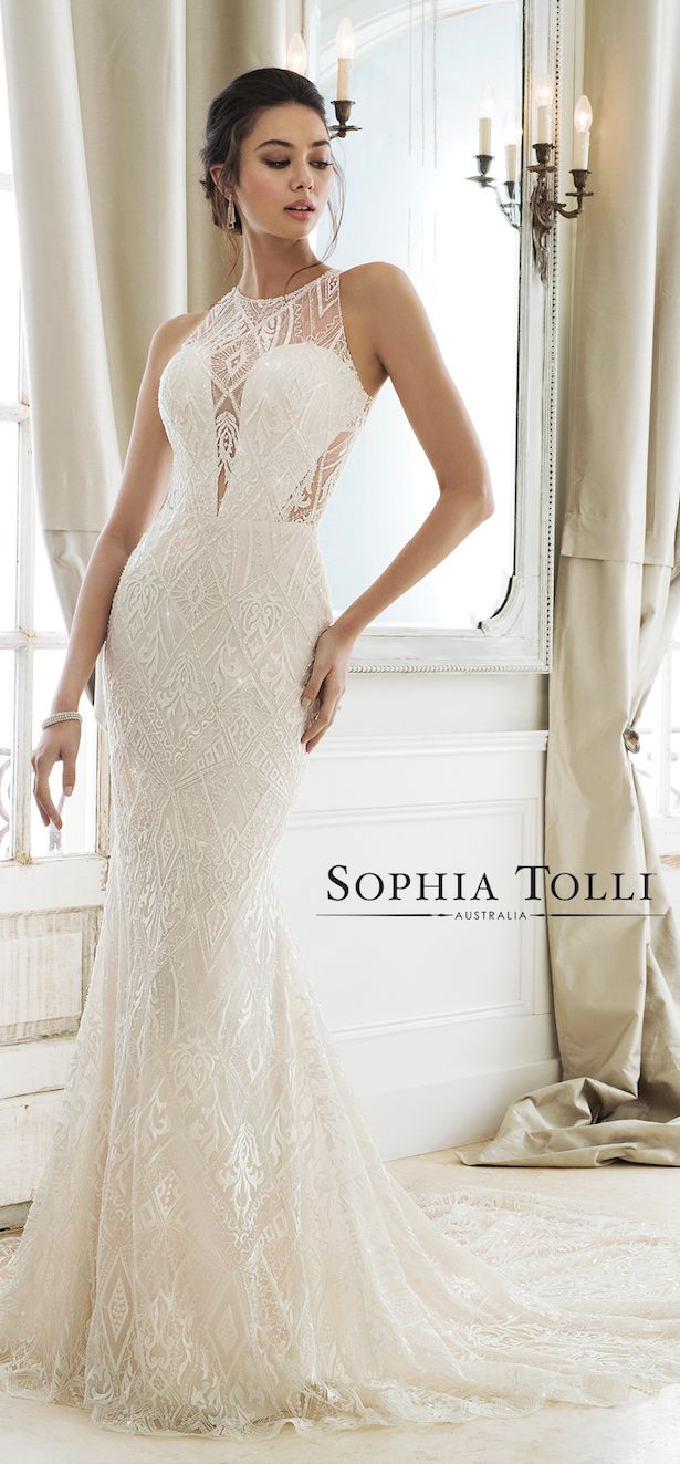 Sophia Tolli Wedding Dress Collection Spring 2018 | Hochzeitskleider ...
