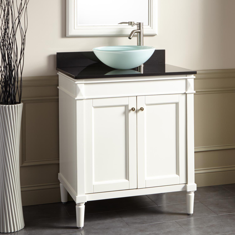 30 Chapman Vessel Sink Vanity White Small Bathroom Vanities 30 Inch Bathroom Vanity Home Depot Bathroom Vanity