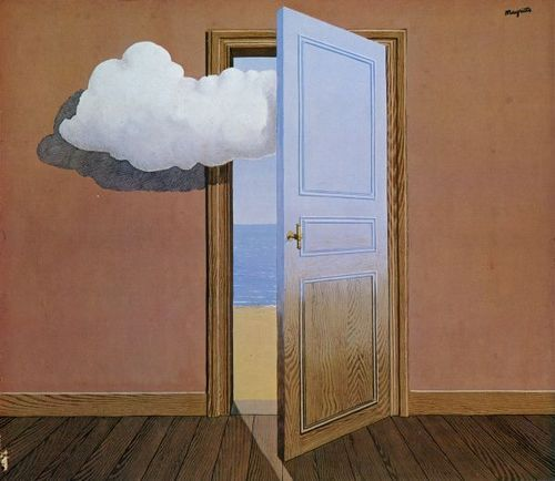 Image result for door surreal magritte