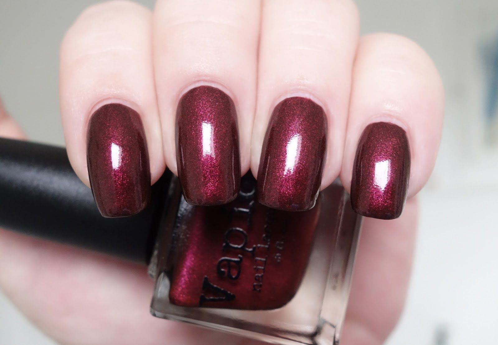 Vapid Lacquer Vampires Don\'t Sparkle nail polish swatch and review ...