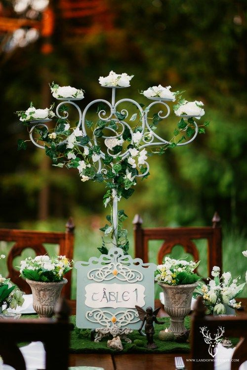 June 2015: Elven Wedding | Satori Art & Event Design | Cluj Napoca, Romania  Elven / Lotr / Lord of the Rings Wedding Design and Decor. Diy  Table setting. Moss & Green & Blue & White  by Satori Art & Event Design