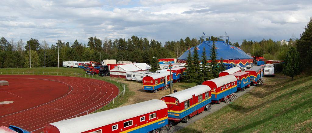 Sirkus Finlandia Henkilökunta