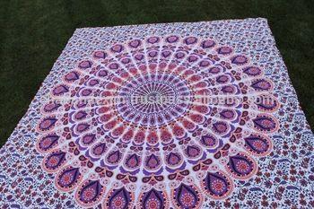 mandala bed sheets printed cotton tapestry