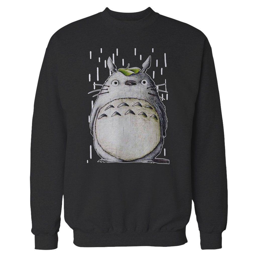 My Neighbor Totoro Ghibli Vintage Cute Sweatshirt Cute Sweatshirts Sweatshirts My Neighbor Totoro [ 1024 x 1024 Pixel ]